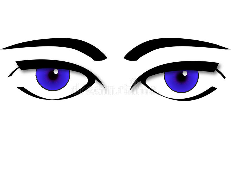 vector de los ojos libre illustration