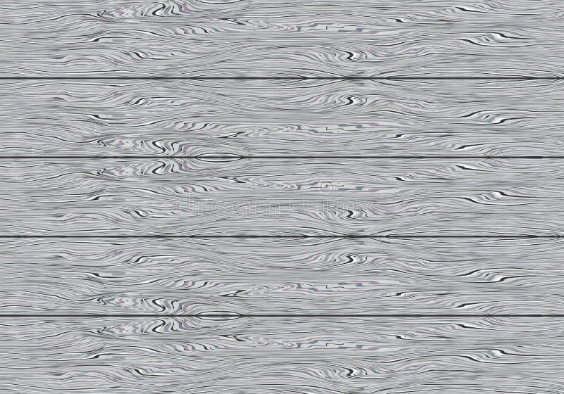 Vector de madera gris realista de la textura del fondo del modelo del tablero libre illustration