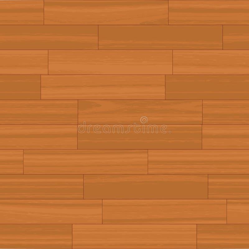 Vector de madera inconsútil del suelo stock de ilustración