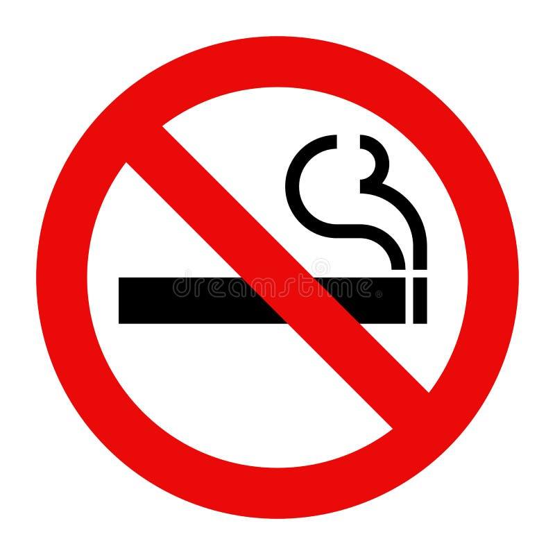 Vector de no fumadores ilustración del vector