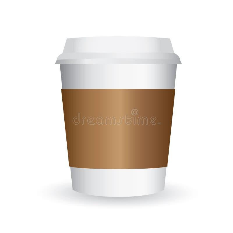 Vector de papel de la taza de café libre illustration