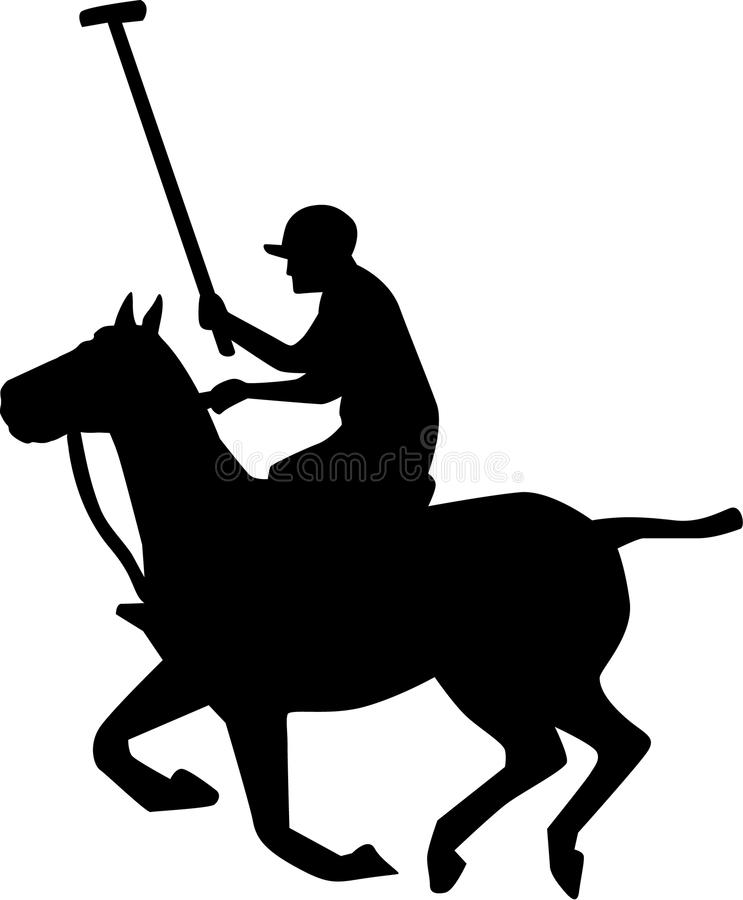 Vector de Polo Player libre illustration
