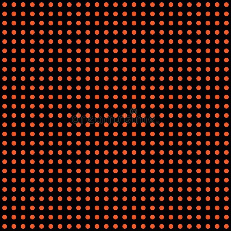 Vector de stipachtergrond van Halloween Oranje en zwarte donkere eindeloze naadloze textuur Het patroon van de dankzeggingendag vector illustratie