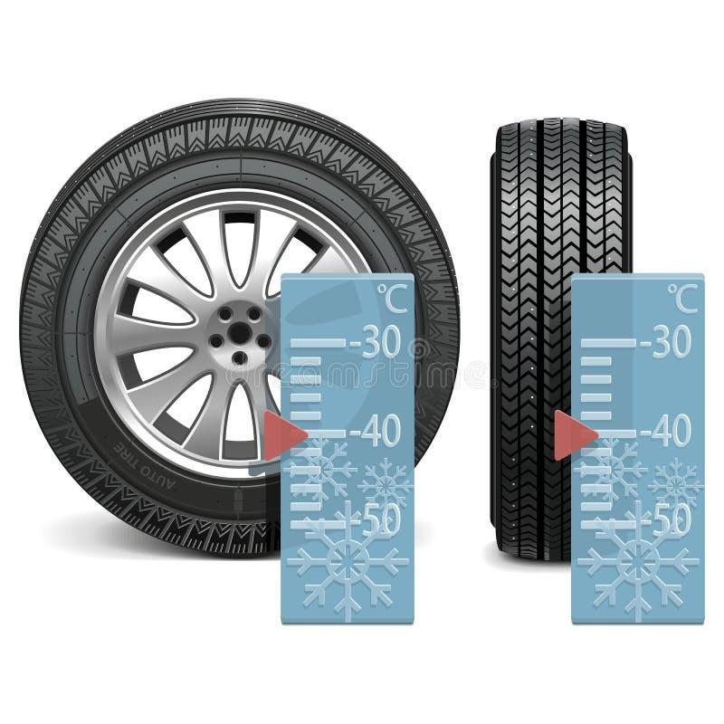 Vector de winterband vector illustratie