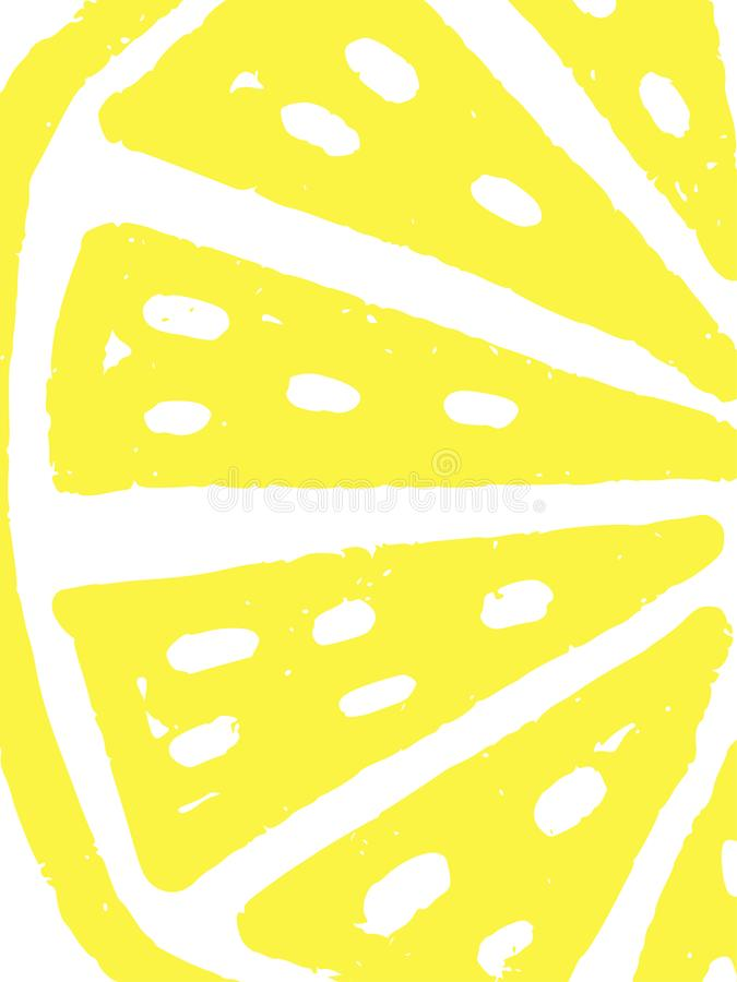 Vector de zomerachtergrond stock illustratie