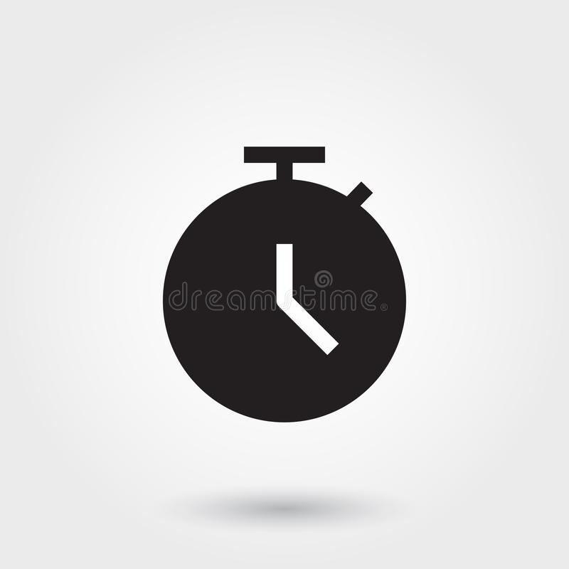 Vector, Deadline, Time, Clock, Watch, Glyph Icon perfect for website, mobile apps, presentation. Vector, Deadline, Time, Clock, Watch, Glyph Icon for any stock illustration