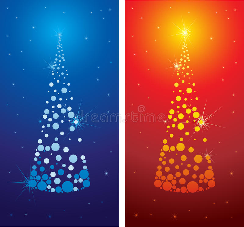Download Vector Decorative Cute Christmas Tree Background Stock Image - Image: 11706281