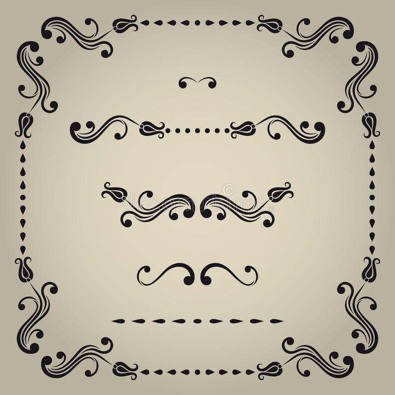 Download Vector Decorative Elements. Stock Vector - Image: 32119332