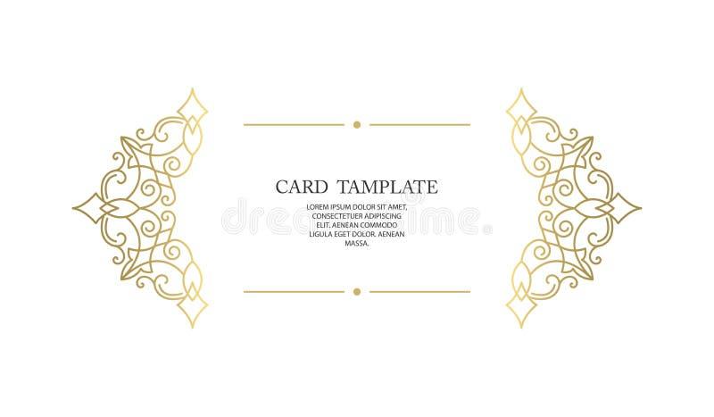 Vector decorative frame or birthday and greeting card, wedding invitation. stock photos