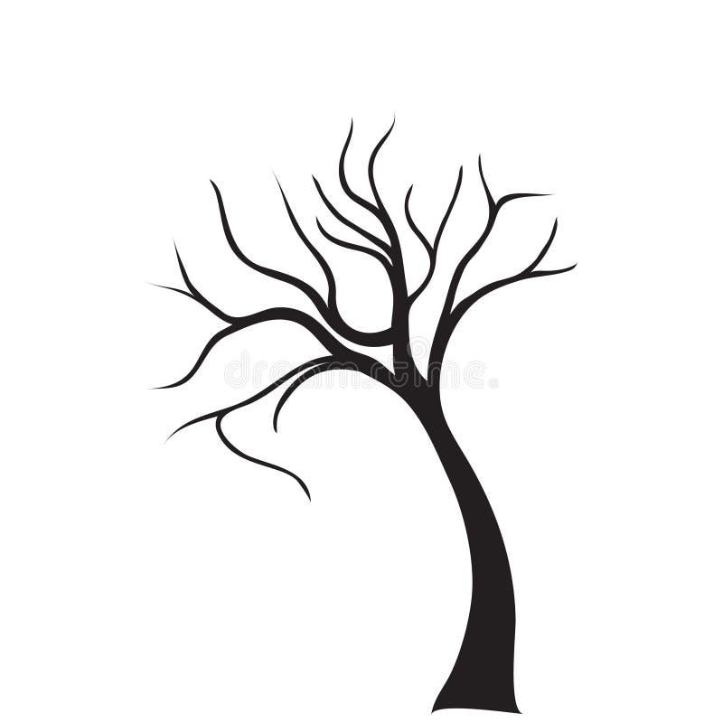 Vector del árbol ilustración del vector