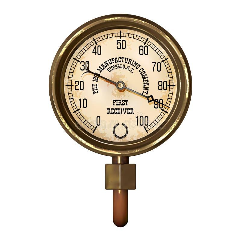 Vector del aparato de medición stock de ilustración