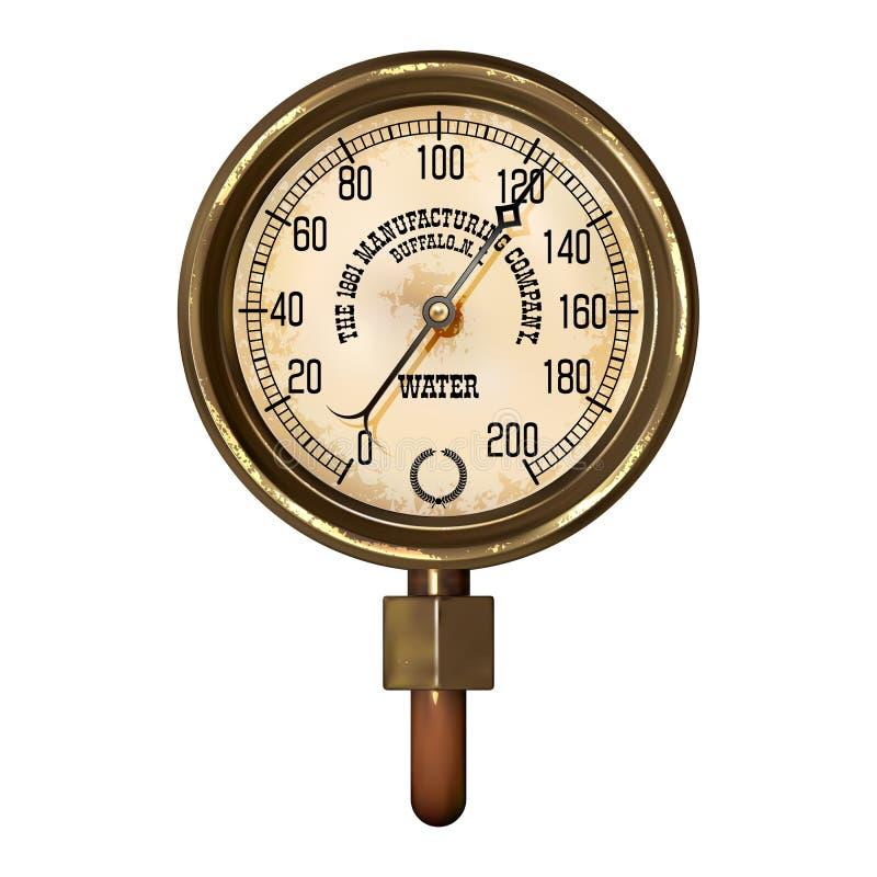 Vector del aparato de medición ilustración del vector