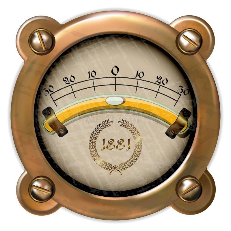 Vector del aparato de medición libre illustration