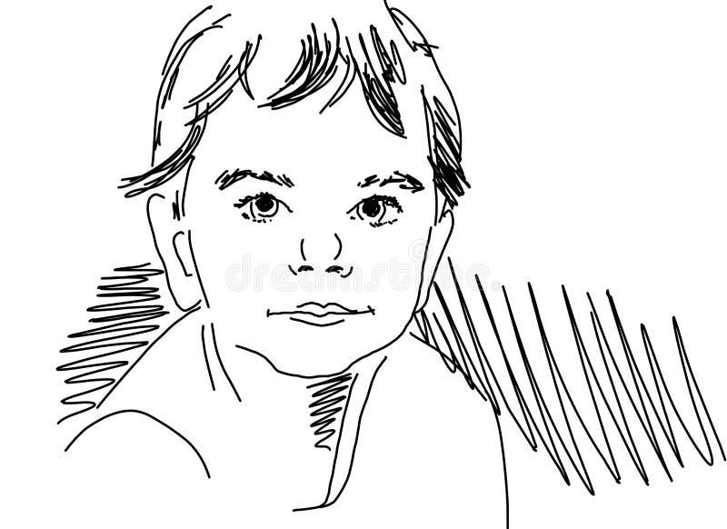 Vector del bebé ilustración del vector