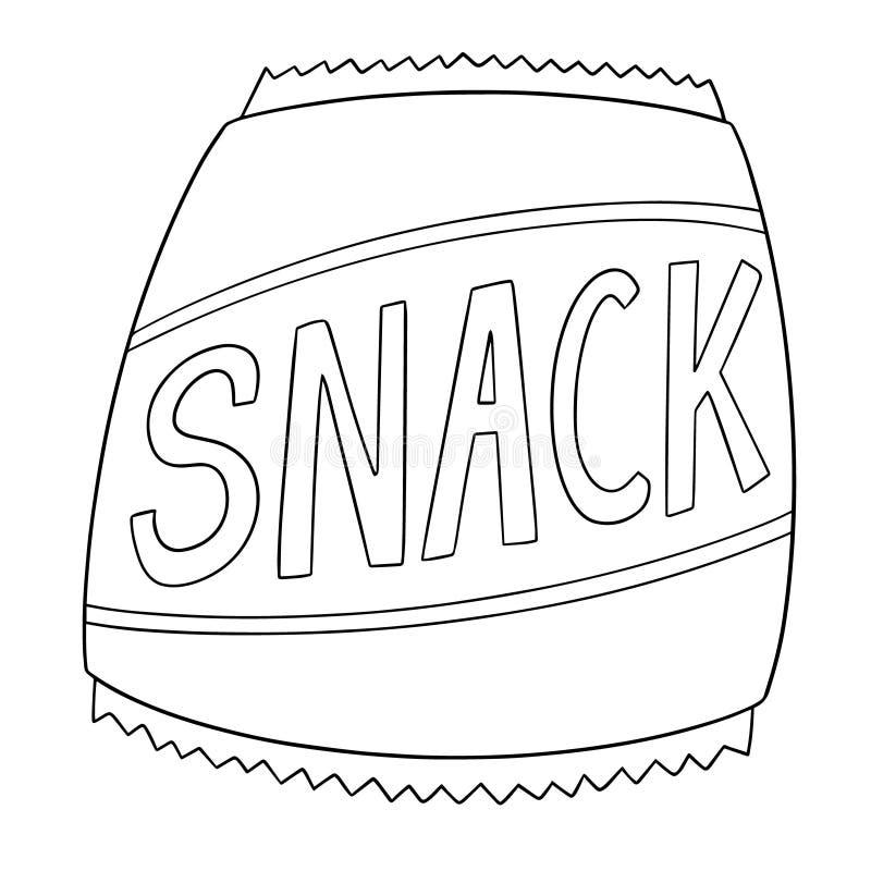 Vector del bocado libre illustration