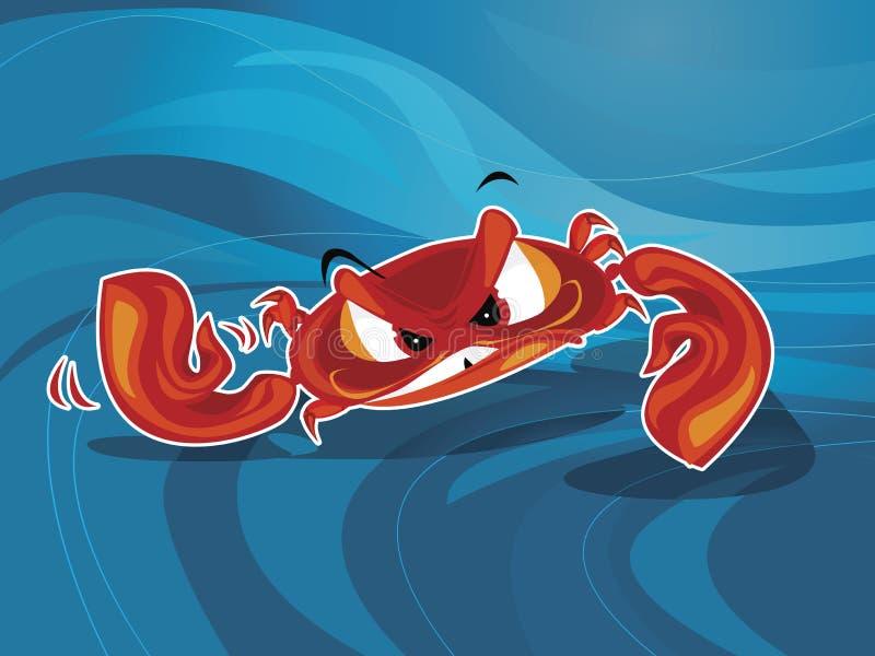 Vector del cangrejo libre illustration