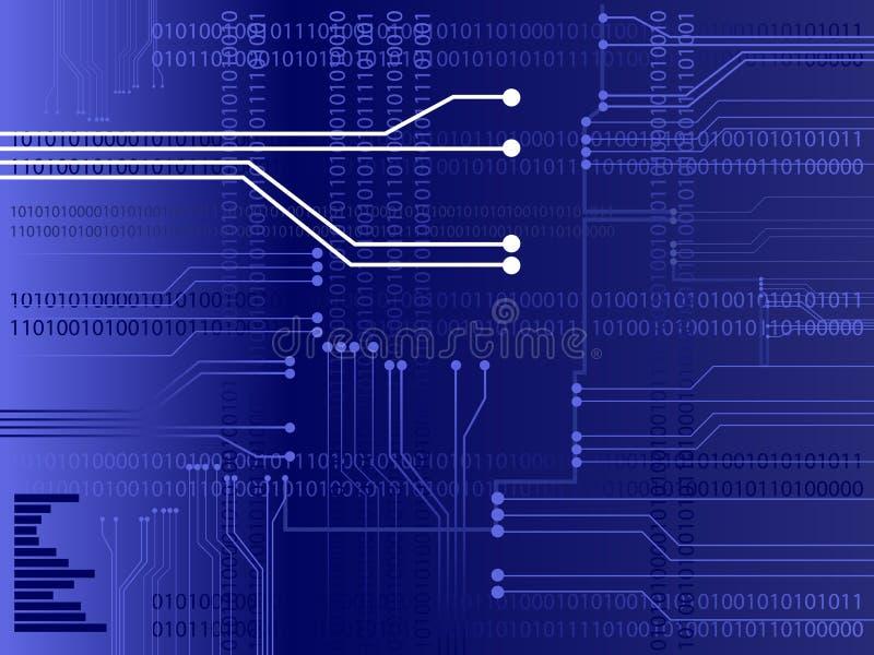 Vector del circuito stock de ilustración