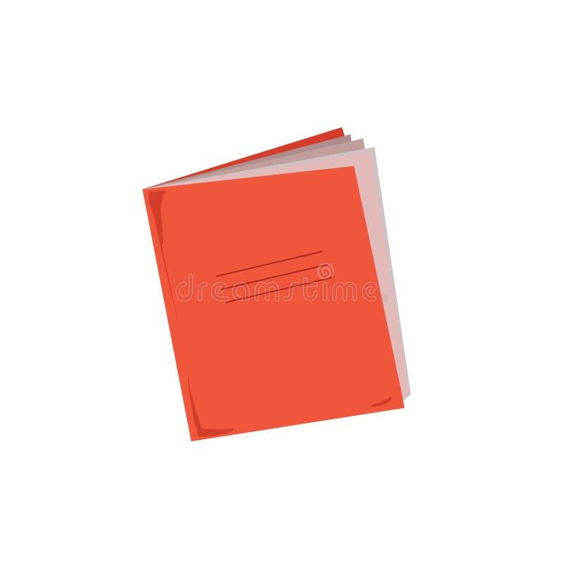 Vector del cuaderno aislado libre illustration