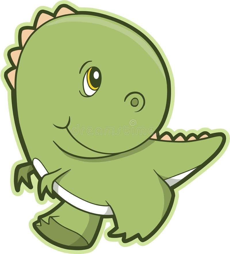 Vector del dinosaurio de T-Rex stock de ilustración