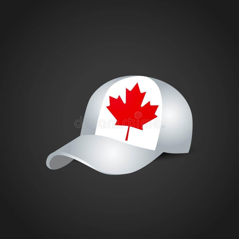 Vector del diseño del casquillo de las banderas ilustración del vector