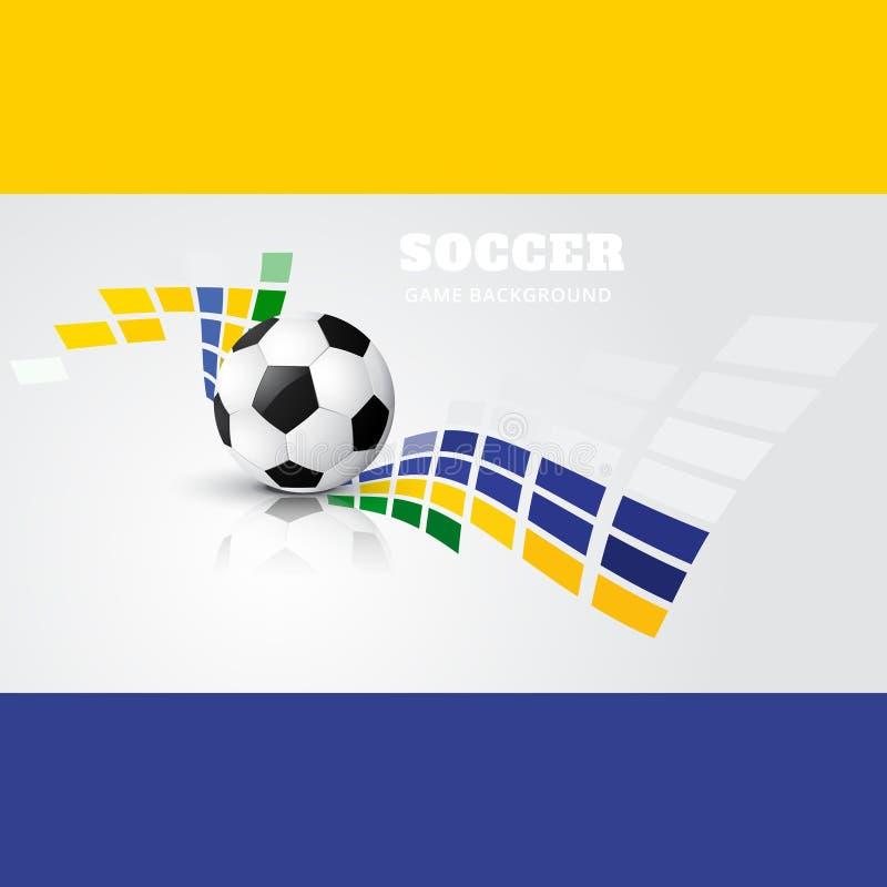 Download Vector Del Diseño De Juego De Fútbol Ilustración del Vector - Ilustración de halftone, tarjeta: 41919771