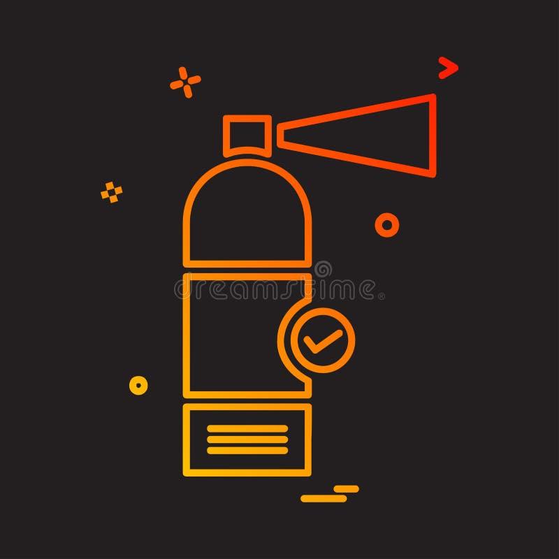 Vector del diseño del icono del cilindro libre illustration