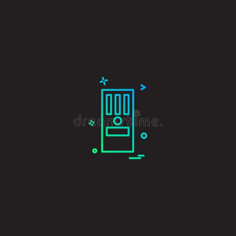 Vector del diseño del icono de la CPU libre illustration
