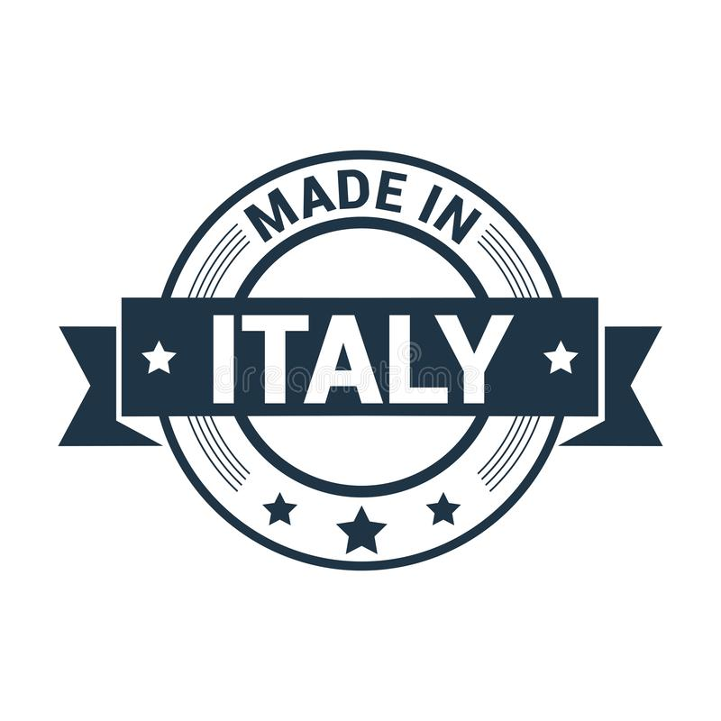 Vector del diseño del sello de Italia ilustración del vector