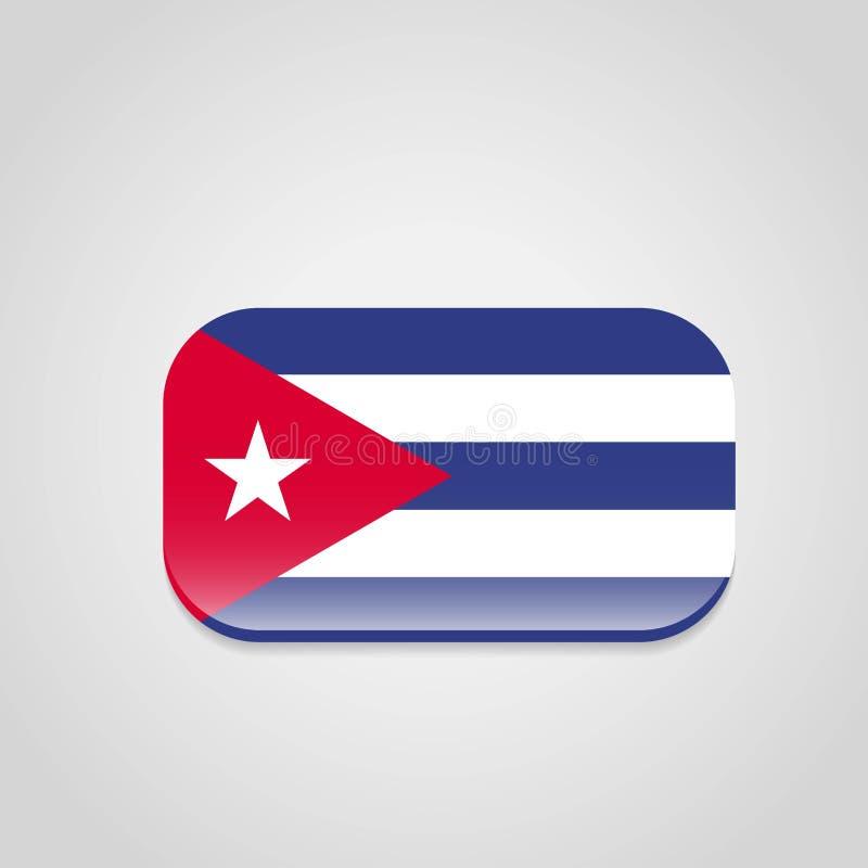 Vector del dise?o de la bandera de Cuba libre illustration
