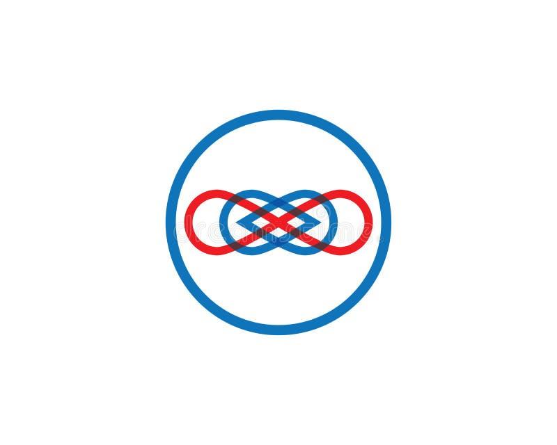 Vector del dise?o del infinito ilustración del vector