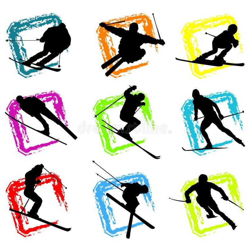 Vector del esquí libre illustration
