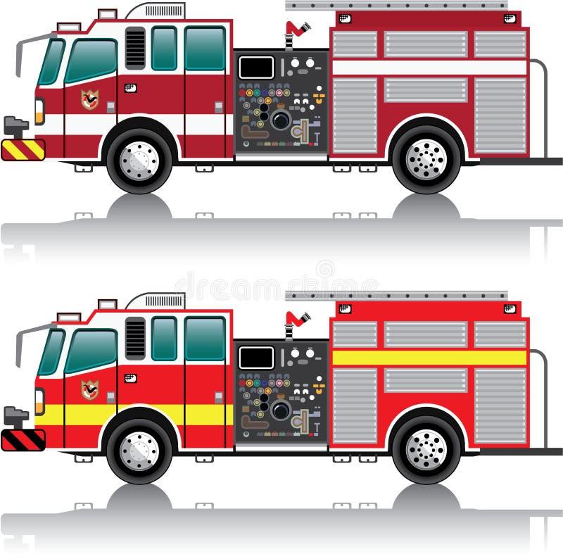 Vector del Firetruck ilustración del vector