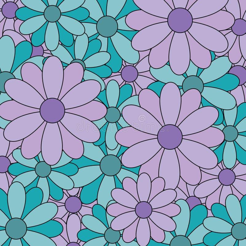 Vector del fondo de la flor stock de ilustración