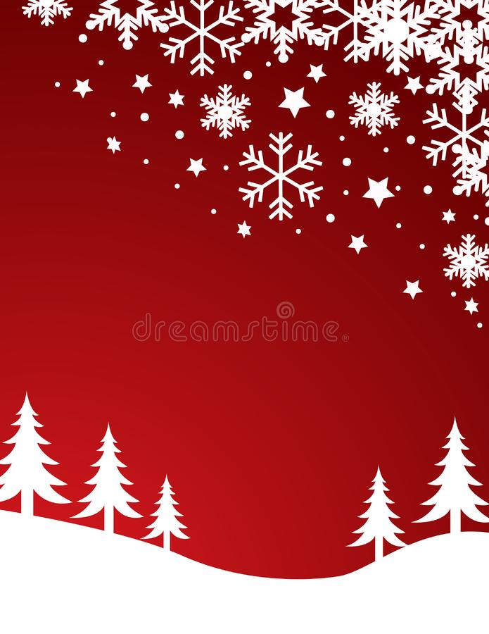 Vector del fondo de la Navidad fotografía de archivo libre de regalías