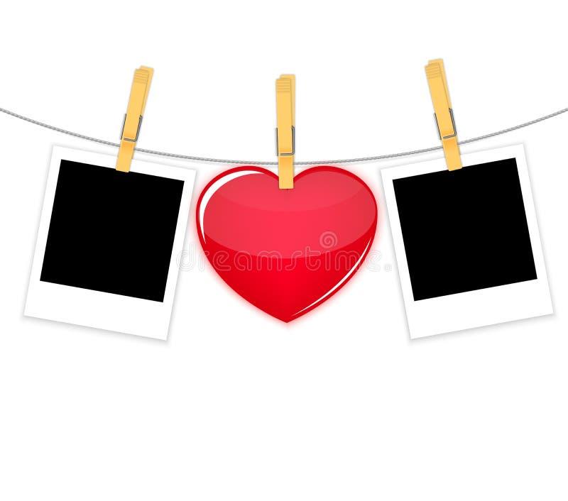 Vector del fondo de la tarjeta del día de tarjetas del día de San Valentín libre illustration
