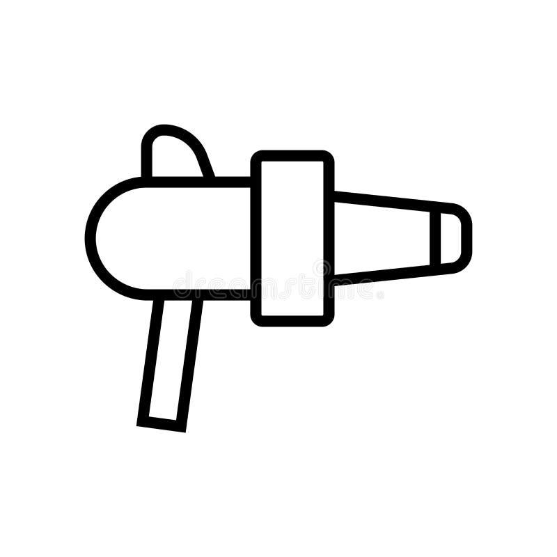 Vector del icono del arenador aislado en el fondo blanco, muestra del arenador ilustración del vector