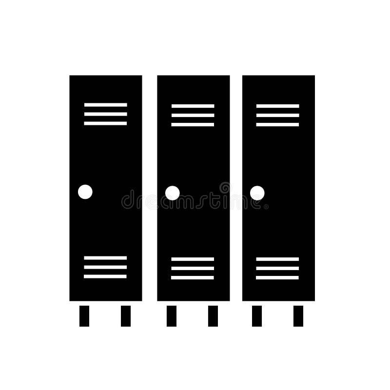 vector del icono del armario stock de ilustración
