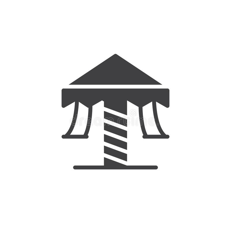 Vector del icono del carrusel ilustración del vector