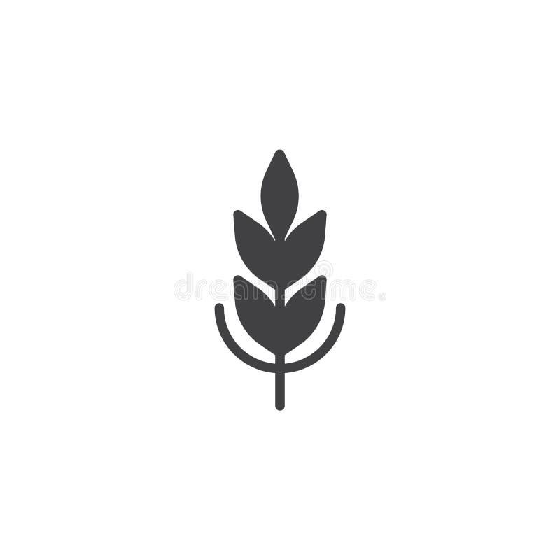 Vector del icono del cereal stock de ilustración