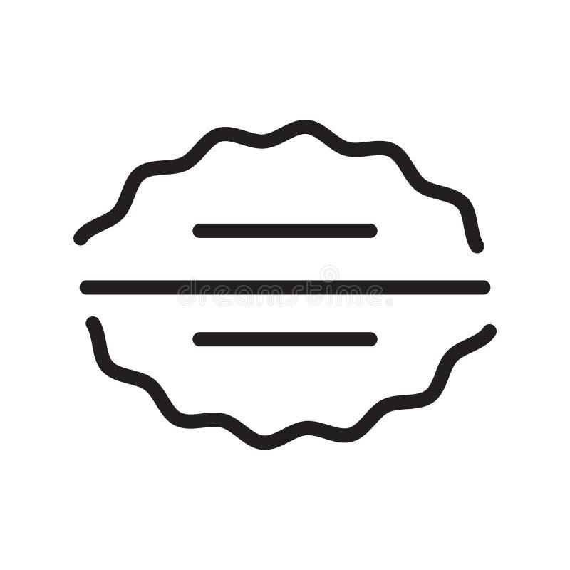 Vector del icono del cerebro aislado en el fondo blanco, la muestra del cerebro, la línea símbolo o el diseño linear del elemento libre illustration