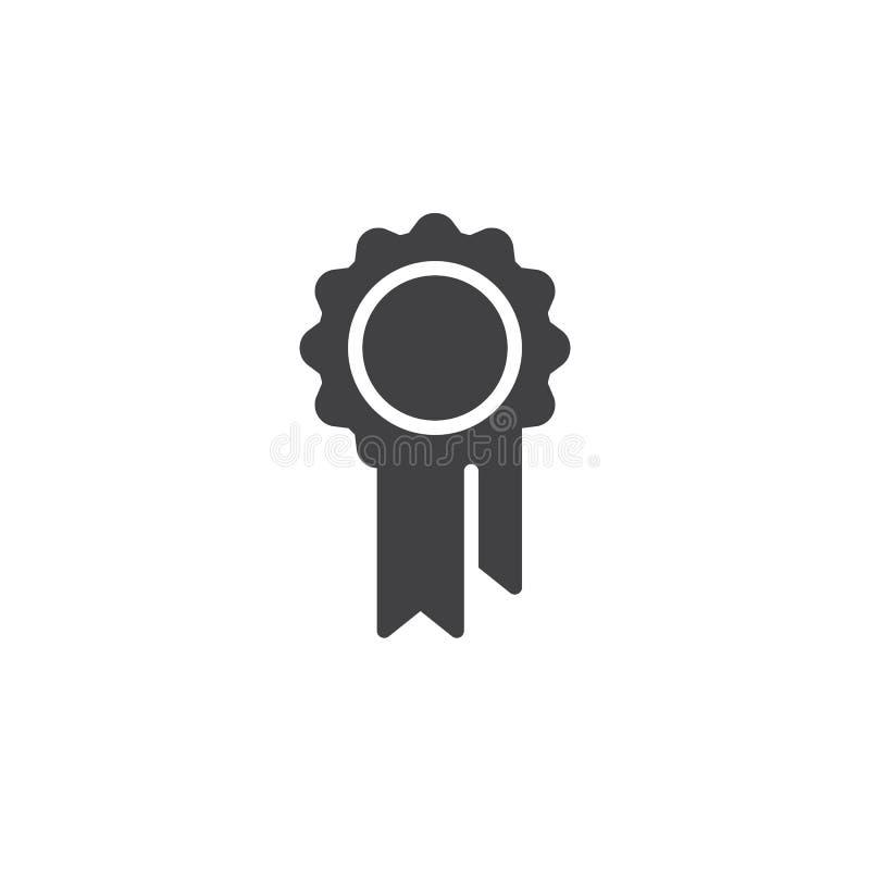 Vector del icono del certificado de la calidad libre illustration