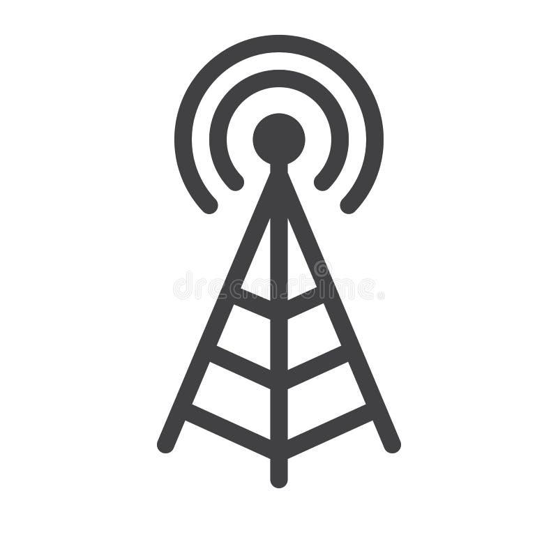 Vector del icono de la antena libre illustration