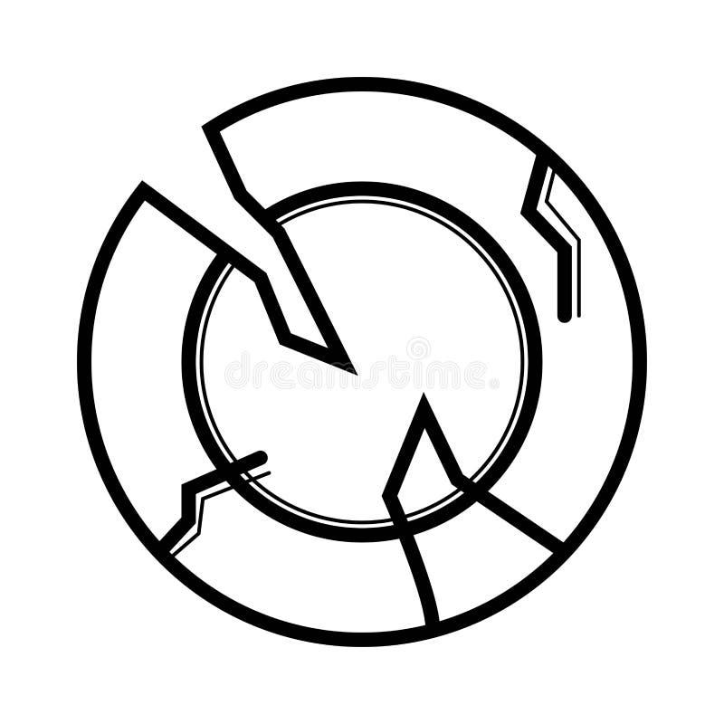 Vector del icono de la arqueología libre illustration