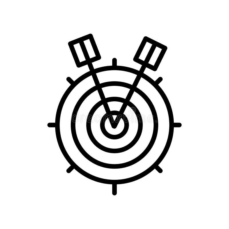 Vector del icono de la blanco aislado en el fondo, la muestra de la blanco, la línea y los elementos blancos del esquema en estil ilustración del vector