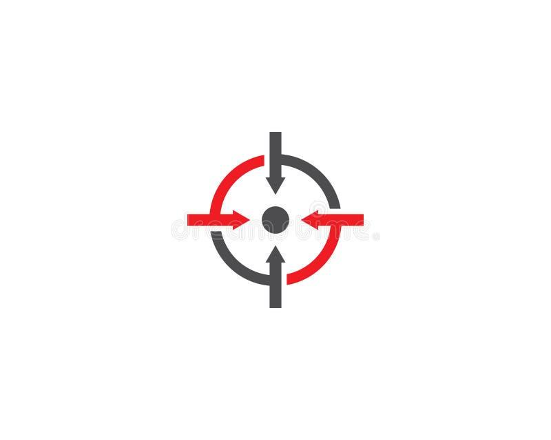 Vector del icono de la blanco stock de ilustración