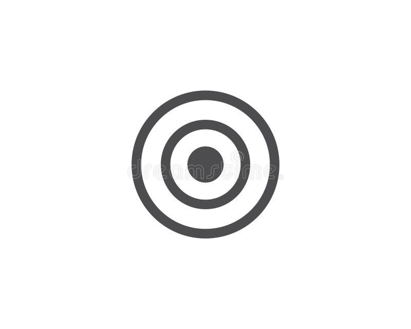 Vector del icono de la blanco ilustración del vector