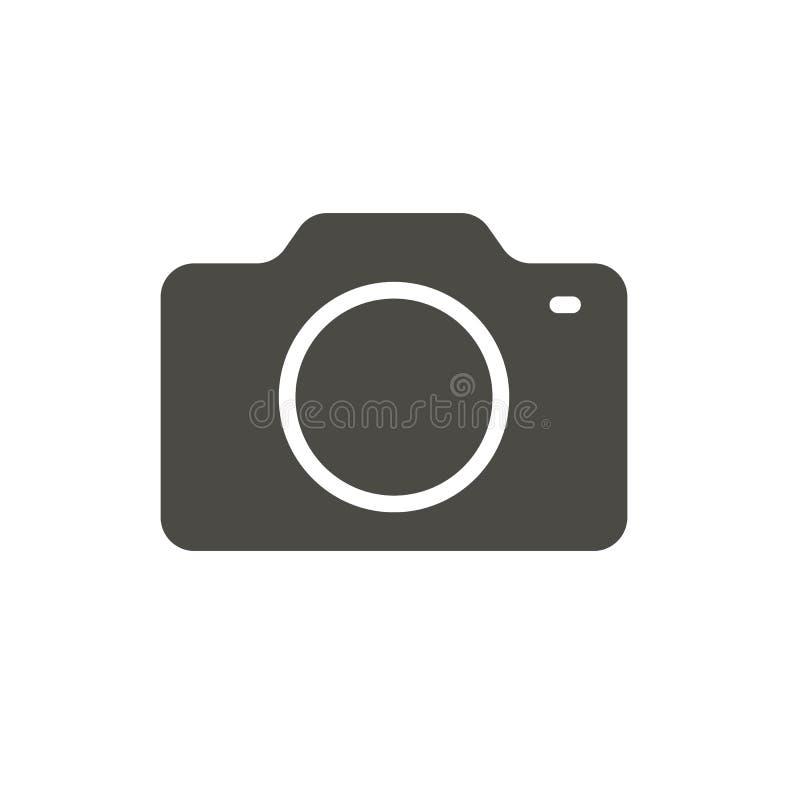 Vector del icono de la cámara Símbolo de la foto Diseño plano de moda de la muestra del ui de la imagen Pictograma gráfico de la  ilustración del vector