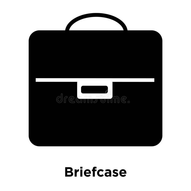 Vector del icono de la cartera aislado en el fondo blanco, concepto del logotipo libre illustration