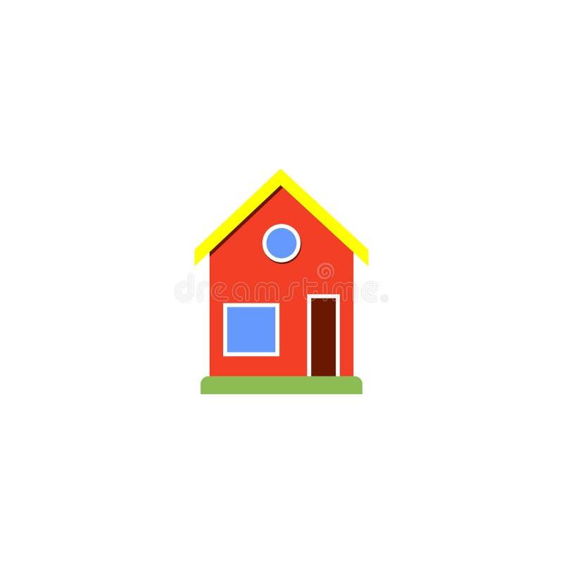 vector del icono de la casa, diseño del logotipo, mapa, ubicación stock de ilustración