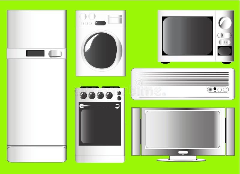 Vector del icono de la electrónica casera libre illustration